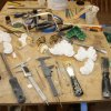 Molds, tools and finished pieces